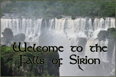 Falls of Sirion Postcard