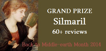 Back to Middle-earth Month 2014 Review Challenge--Silmaril Award
