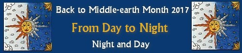 Back to Middle-earth Month 2017 Banner From Day to Night