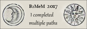Back to Middle-earth Month 2017 Banner I Completed Multiple Paths