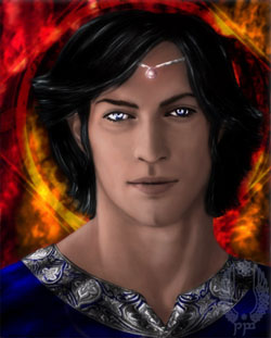 Young Fëanor by Breogán