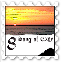 August 2017 Song of Exile challenge stamp