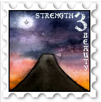 March 2017 Strength and Beauty challenge stamp