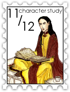 November December 2017 30-Day Character Study challenge stamp