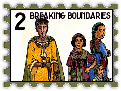 February 2018 Breaking Boundaries challenge stamp