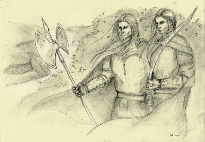 'Captains of Doriath' by Hrymfaxe