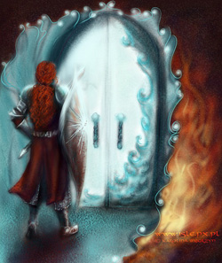 A Silmaril Is Behind That Door by Sirielle